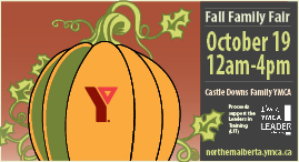 Fall Family Fair at Castle Downs Family YMCA