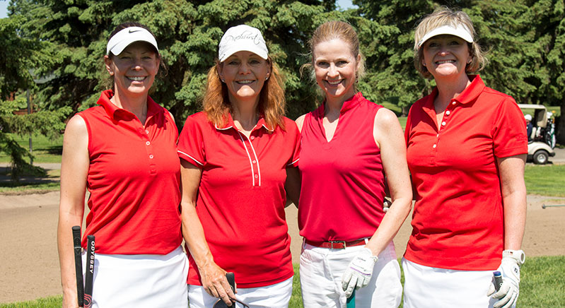 Ladies-in-red-great-golfers