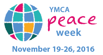 YMCA Peace Week logo.